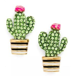 Kate Spade Scenic Route Cactus Earring Studs